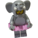 LEGO Elephant Girl Minifigure