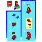 lego snowman ornament instructions