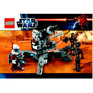 LEGO Elite Clone Trooper & Commando Droid Battle Pack Set 9488 Instructions