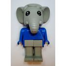 LEGO Elmer Elephant Fabuland Figure