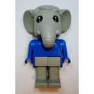 LEGO Elmer Elephant Fabuland Minifigure
