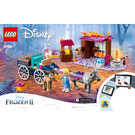 LEGO Elsa and the Reindeer Carriage Set 41166 Instructions
