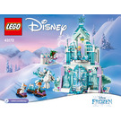 LEGO Elsa's Ice Palace Set 43172 Instructions