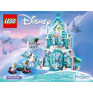 LEGO Elsa's Magical Ice Palace Set 41148 Instructions