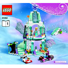 LEGO Elsa's Sparkling Ice Castle Set 41062 Instructions