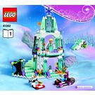 LEGO Elsa's Sparkling Ice Castle Set 41062 Instructions