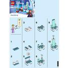 LEGO Elsa's Winter Throne Set 30553 Instructions