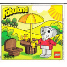 LEGO Elton Elephant Set 3601 Instructions