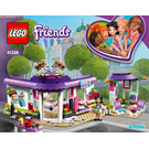 LEGO Emma's Art Café Set 41336 Instructions