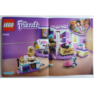 LEGO Emma's Deluxe Bedroom Set 41342 Instructions