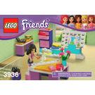LEGO Emma's Fashion Design Studio Set 3936 Instructions