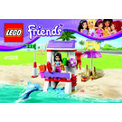 LEGO Emma's Lifeguard Post Set 41028 Instructions