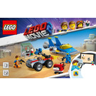 LEGO Emmet and Benny's 'Build and Fix' Workshop! Set 70821 Instructions