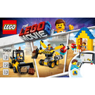 LEGO Emmet's Builder Box! Set 70832 Instructions