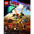 LEGO Emmet's Construction Mech Set 70814 Instructions
