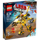 LEGO Emmet's Construction Mech Set 70814 Packaging