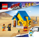 LEGO Emmet's Dream House/Rescue Rocket! Set 70831 Instructions