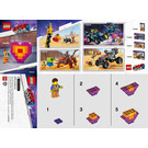 LEGO Emmet's 'Piece' Offering Set 30340 Instructions