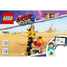 LEGO Emmet's Thricycle! Set 70823 Instructions