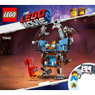 LEGO Emmet's Triple-Decker Couch Mech Set 70842 Instructions