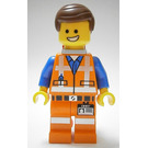 LEGO Emmet with Backpack Figurine and Plate on Leg