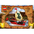 LEGO Emperor's Ship Set 7416