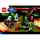 LEGO Endor Rebel Trooper & Imperial Trooper Battle Pack Set 9489 Instructions