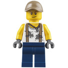 LEGO Engineer with Dirt Stained White Shirt Minifigure