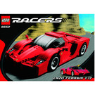 LEGO Enzo Ferrari 1:17 Set 8652 Instructions