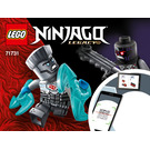 LEGO Epic Battle Set - Zane vs. Nindroid 71731 Instructions