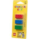 LEGO Erasers - Bricks (Red, Green & Blue) (852706)