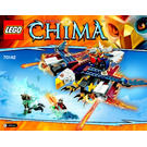 LEGO Eris' Fire Eagle Flyer Set 70142 Instructions