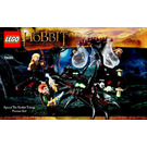 LEGO Escape from Mirkwood Spiders Set 79001 Instructions