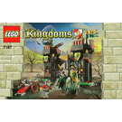 LEGO Escape from the Dragon's Prison Set 7187 Instructions