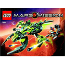 LEGO ETX Alien Mothership Assault  Set 7691 Instructions