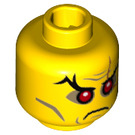 LEGO Evil Wizard Plain Head (Recessed Solid Stud) (3626 / 19097)