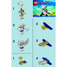 LEGO Ewar's Acro Fighter Set 30250 Instructions