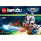LEGO Excalibur Batman Set 71344 Instructions