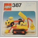 LEGO Excavator and Dumper Set 387 Instructions