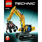 LEGO Excavator Set 42006 Instructions