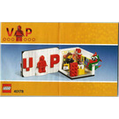 LEGO Exclusive VIP Set 40178 Instructions