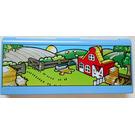 LEGO Explore Story Builder Farmyard Fun Memory Card with Farm pattern (1033)