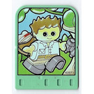 LEGO Explore Story Builder Jungle Jam Story Card with boy pattern (42177 / 43973)