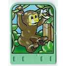 LEGO Explore Story Builder Jungle Jam Story Card with monkey pattern (42179 / 43975)