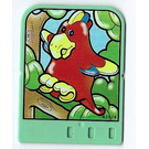 LEGO Explore Story Builder Jungle Jam Story Card with parrot pattern (42178 / 43974)