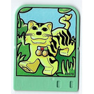 LEGO Explore Story Builder Jungle Jam Story Card with tiger pattern (42182 / 43978)
