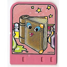 LEGO Explore Story Builder Pink Palace Card with book pattern (42180 / 44004)