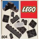 LEGO Extra Bricks Black Set 804-1
