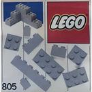 LEGO Extra Bricks Grey Set 805-1