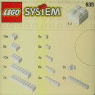 LEGO Extra Bricks in White Set 635